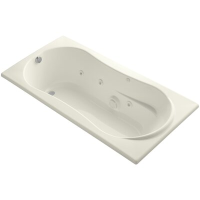 Proflex 72 x 36 Whirlpool Bathtub Finish: Biscuit