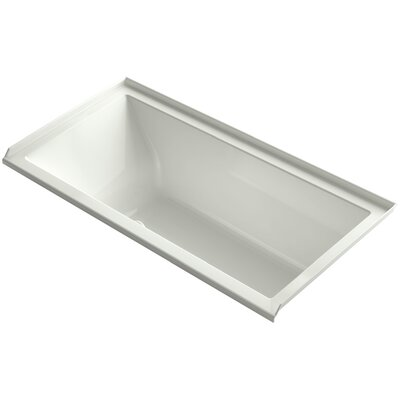 Underscore 60 x 30 Air Bathtub Finish: Dune, Drain Location: Right