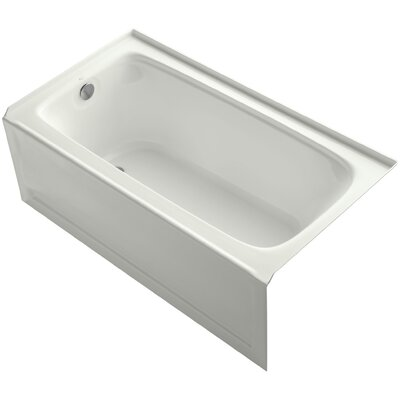 Bancroft 60 x 32 Soaking Bathtub Finish: Dune, Drain Location: Left