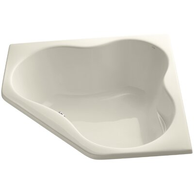 Proflex 54 x 54 Soaking Bathtub Finish: Almond