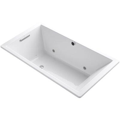 Underscore 66 x 36 Air Bathtub Finish: White