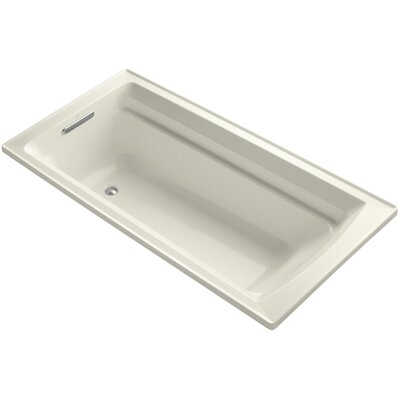 Antique 72 x 36 Soaking Bathtub Finish: Biscuit