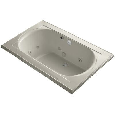 Memoirs 66 x 42 Whirlpool Bathtub Finish: Sandbar