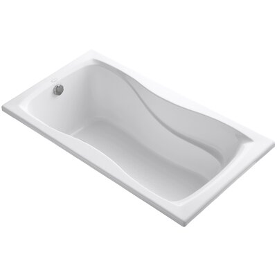 Hourglass 60 x 32 Soaking Bathtub Finish: White