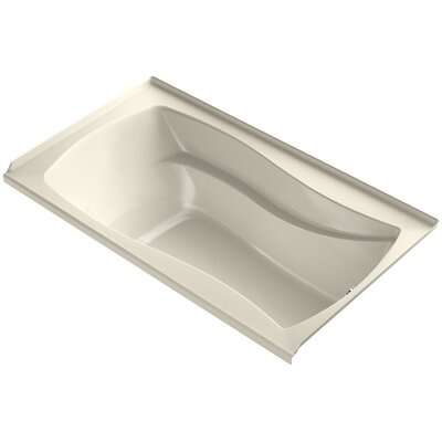 Mariposa 66 x 36 Air Bathtub Finish: Almond, Drain Location: Right