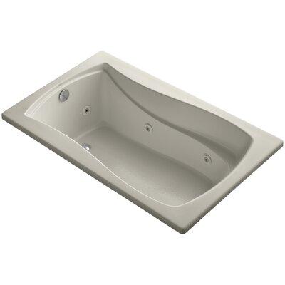 Mariposa 60 x 36 Whirlpool Bathtub Finish: Sandbar