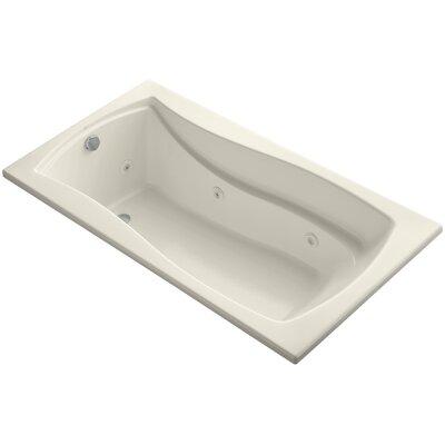 Mariposa 66 x 36 Whirlpool Bathtub Finish: Almond