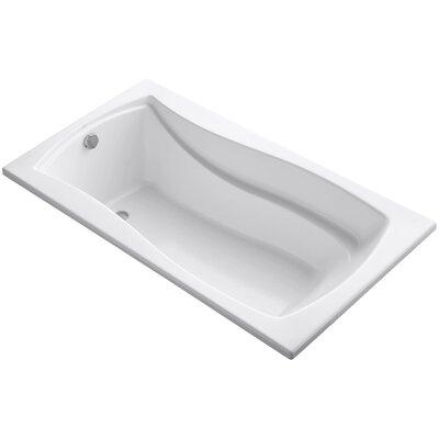 Mariposa Vibracoustic 66 x 36 Soaking Bathtub Finish: White