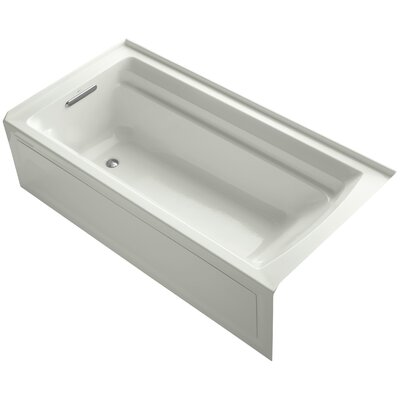 Archer 72 x 36 Soaking Bathtub Finish: Dune, Drain Location: Left