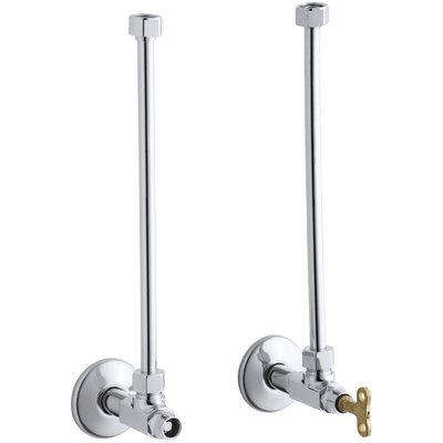 Pair Angle Supplies with Loose-Key Stop and Annealed Vertical Tube