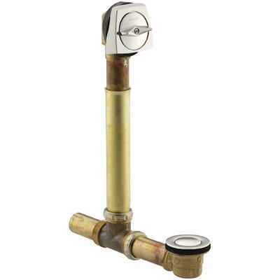 Clearflo 1-1/2 Adjustable1.5 Leg Tub Drain Finish: Vibrant Polished Nickel