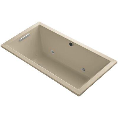 Underscore 60 x 32 Air Bathtub Finish: Mexican Sand