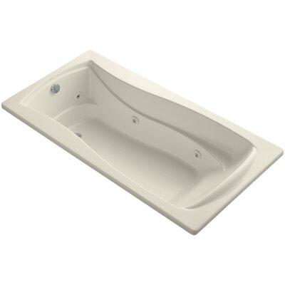Mariposa 72 x 36 Whirlpool Bathtub Finish: Almond