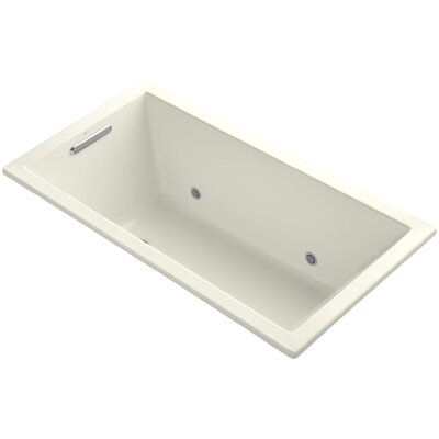 Underscore 60 x 32 Soaking Bathtub Finish: Biscuit