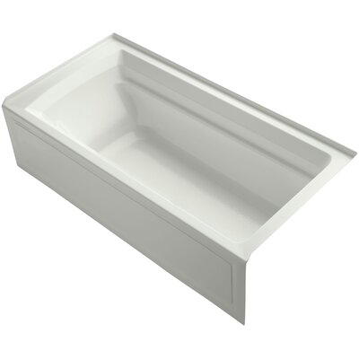 Archer 72 x 36 Soaking Bathtub Finish: Dune, Drain Location: Right