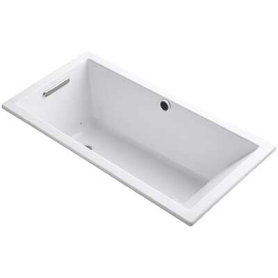 Underscore 60 x 30 Air Bathtub Finish: White