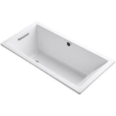 Underscore 60 x 30 Air Bathtub Finish: White