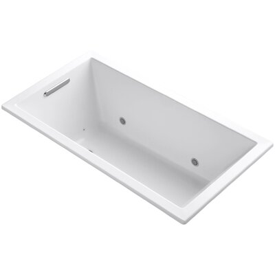 Underscore 60 x 32 Air Bathtub Finish: White