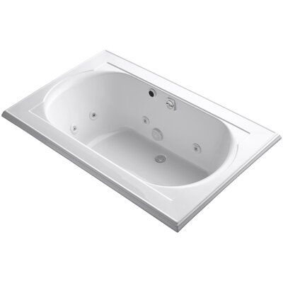 Memoirs 66 x 42 Whirlpool Bathtub Finish: White