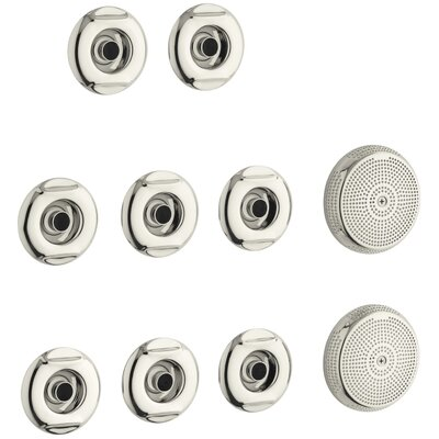 Riverbath Whirlpool Trim Kit Finish: Vibrant Polished Nickel