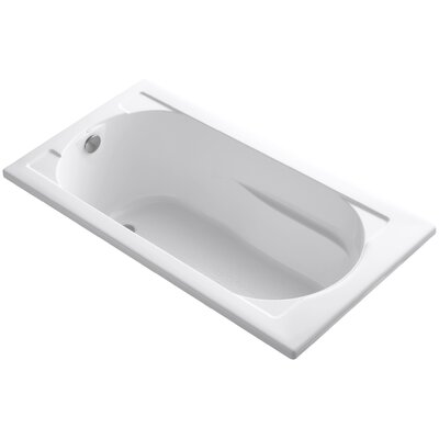 Devonshire Vibracoustic 60 x 32 Soaking Bathtub Finish: White