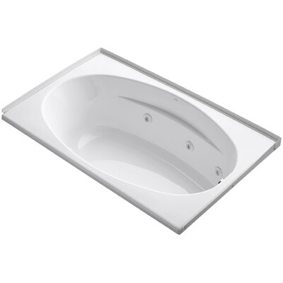 60 x 36 Whirlpool Bathtub Finish: White
