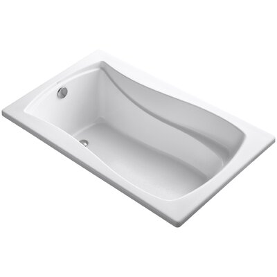 Mariposa 60 x 36 Soaking Bathtub Finish: White