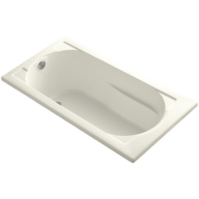 Devonshire Vibracoustic 60 x 32 Soaking Bathtub Finish: Biscuit
