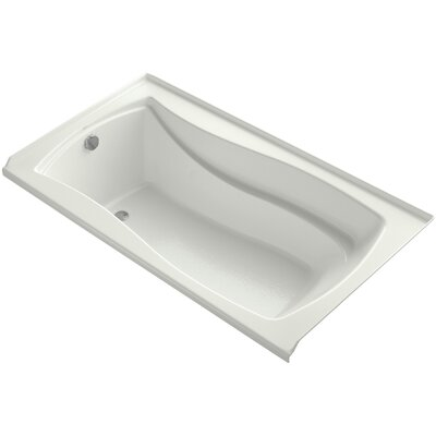 Mariposa 66 x 36 Soaking Bathtub Finish: Dune, Drain Location: Left
