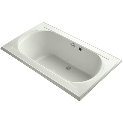 Memoirs Bubblemassage 72 x 42 Soaking Bathtub Finish: Dune