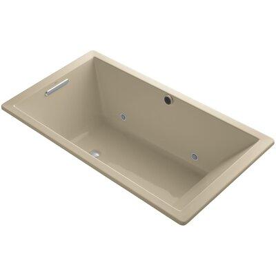 Underscore 66 x 36 Air Bathtub Finish: Mexican Sand