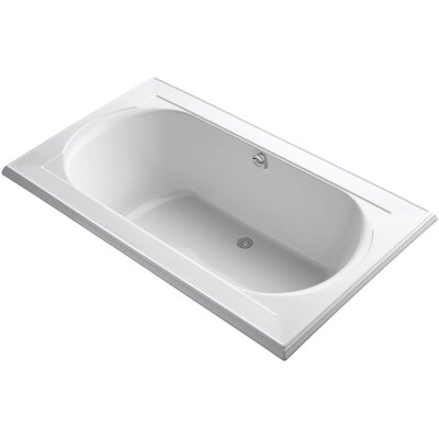 Memoirs Vibracoustic 72 x 42 Soaking Bathtub Finish: White
