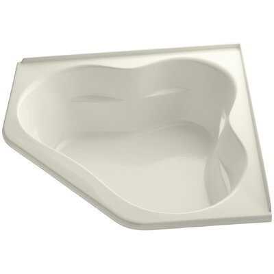 Tercet Bubblemassage 60 x 60 Soaking Bathtub Finish: Biscuit