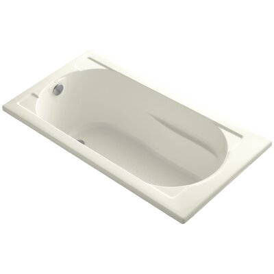 Devonshire 60 x 32 Soaking Bathtub Finish: Biscuit