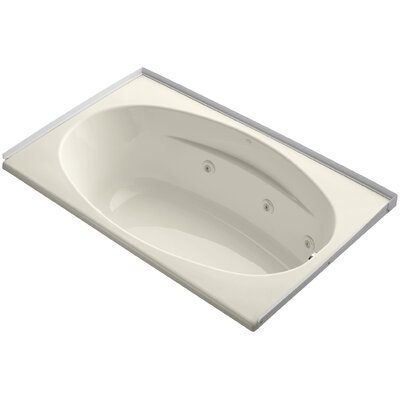 60 x 36 Whirlpool Bathtub Finish: Almond
