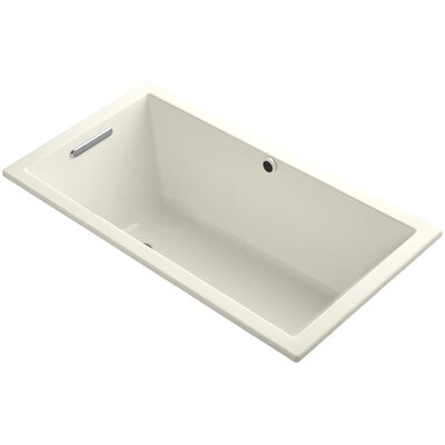 Underscore 60 x 32 Soaking Bathtub Finish: Biscuit