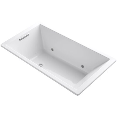 Underscore 66 x 36 Air Bathtub Finish: White