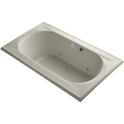 Memoirs 72 x 42 Air Bathtub Finish: Sandbar