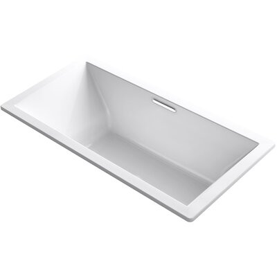 Underscore 72 x 36 Soaking Bathtub Finish: White