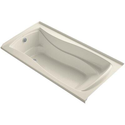 Mariposa 72 x 36 Soaking Bathtub Finish: Almond, Drain Location: Left