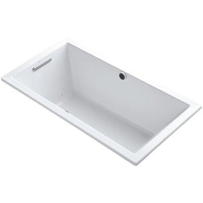 Underscore 60 x 32 Air Bathtub Finish: White