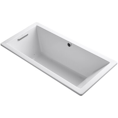 Underscore 66 x 32 Air Bathtub Finish: White