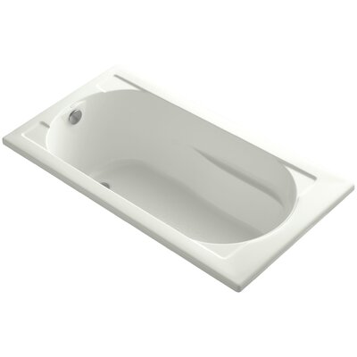 Devonshire Vibracoustic 60 x 32 Soaking Bathtub Finish: Dune