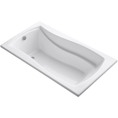 Rainhead 66 x 35.88 Soaking Bathtub Finish: White