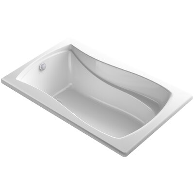 Mariposa 60 x 36 Air Bathtub Finish: White