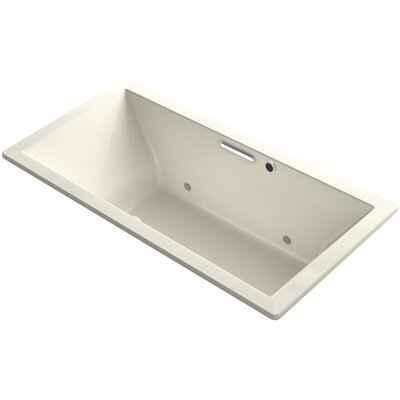 Underscore 72 x 36 Air Bathtub Finish: Almond
