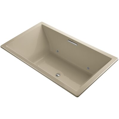 Underscore 72 x 42 Air Bathtub Finish: Mexican Sand