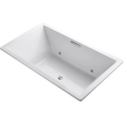 Underscore 72 x 42 Soaking Bathtub Finish: White