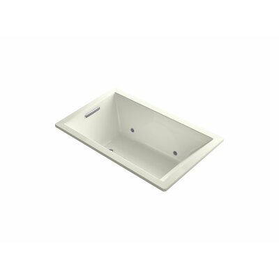 Underscore 60 x 36 Soaking Bathtub Finish: Biscuit
