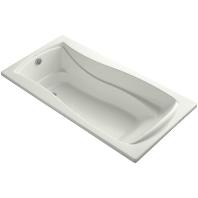 Mariposa Bubblemassage 72 x 36 Soaking Bathtub Finish: Dune